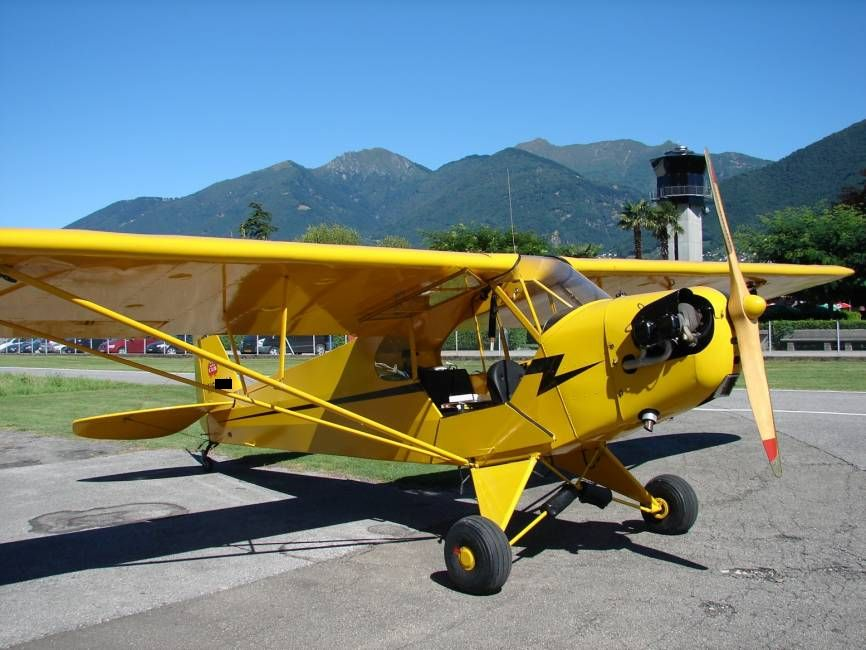 фото самолёт пайпер